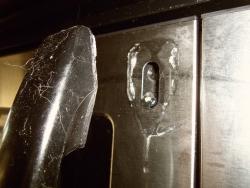 broken microwave handle