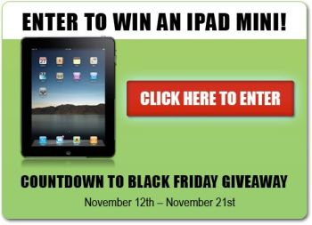 enter to win an ipad mini black friday