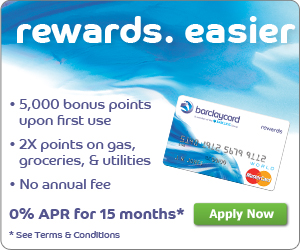 Barclay Rewards Mastercard