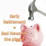 early retirement invest in 401k and Roth IRA?