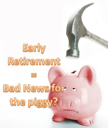 early retirement 401k roth ira
