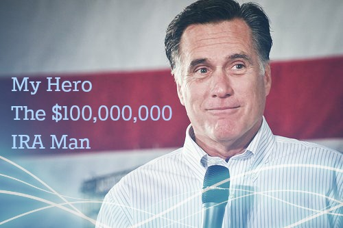 Mitt Romney $100 million IRA Obama cap IRA
