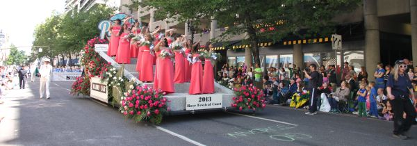 Portland Rose Festival parade new year's resolutions update summer