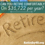 Can You Retire Comfortably On $31,722 per year?