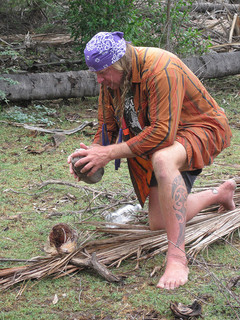 Cody Lundin from Dual Survival doesn't have to worry about clothes or shoes
