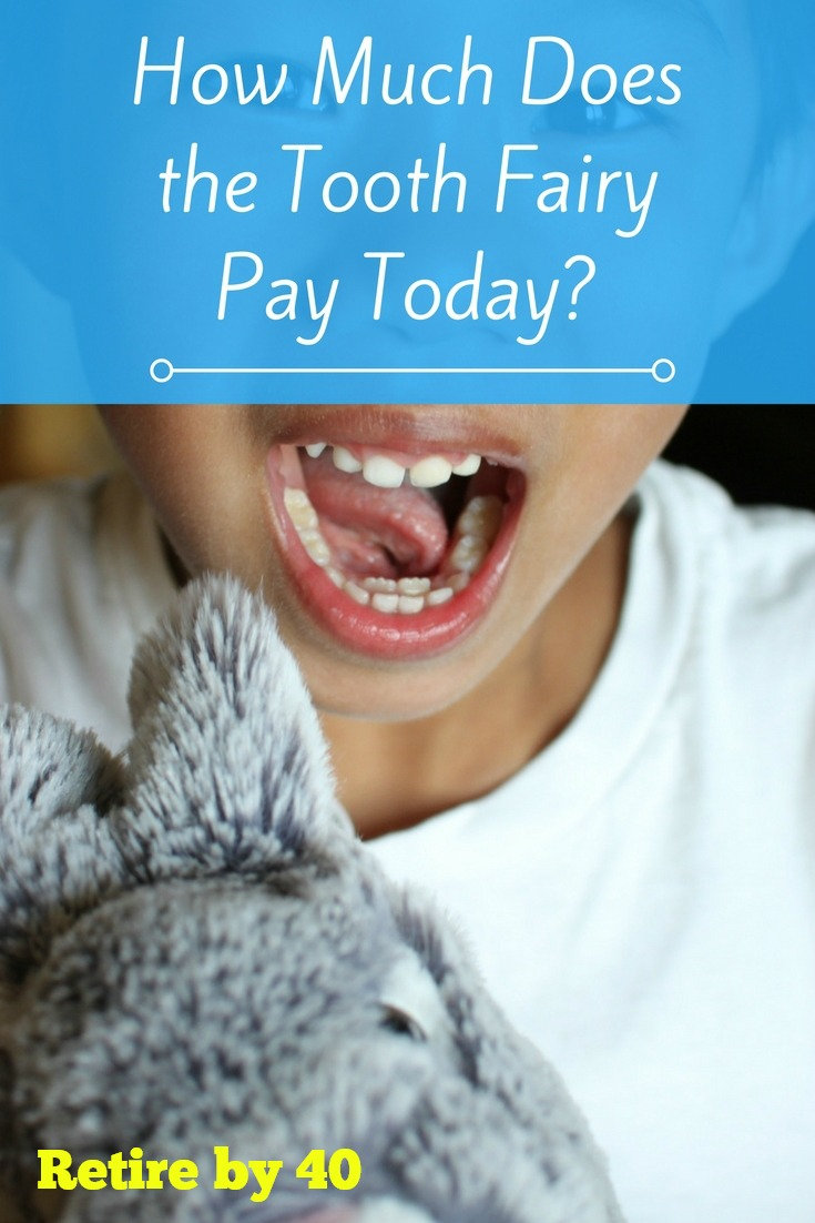 how much does the tooth fairy pay today