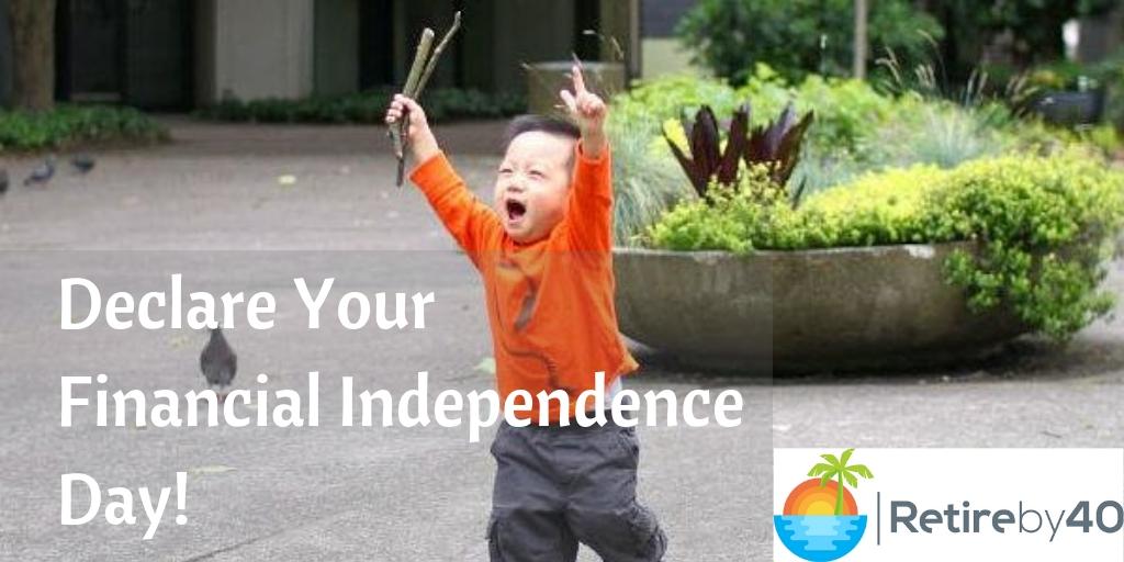 Declare seu dia da independência financeira 6