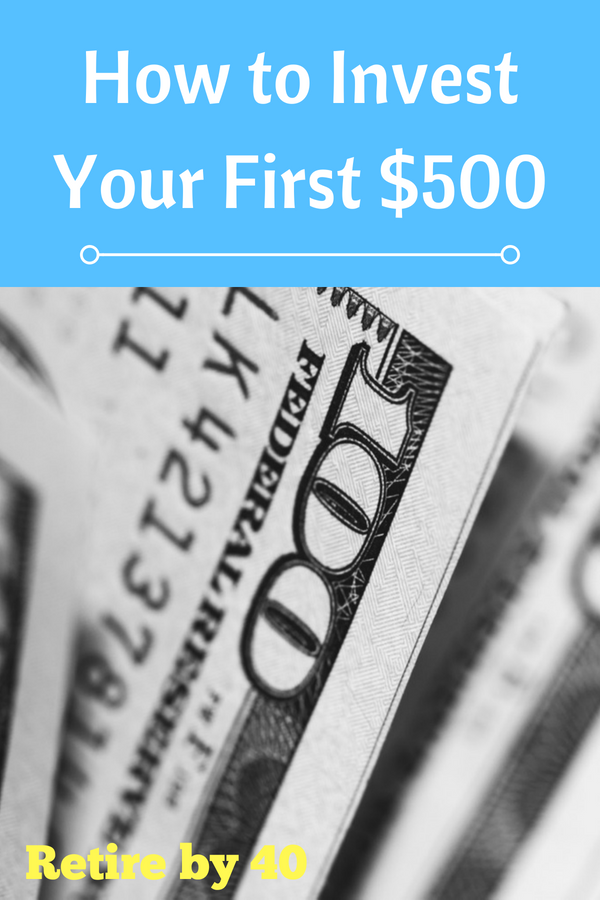 One of the best things you can do to build wealth is to start investing as early as you can. This is easy in theory, but it is more difficult in practice. Here how our son will invest his first $500.