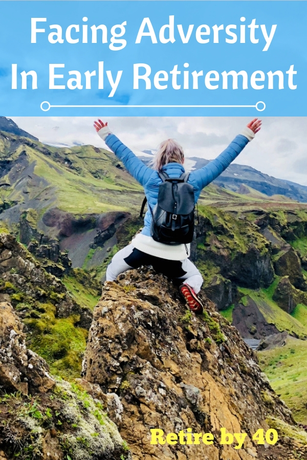I'm a big optimist, but life isn't positive all the time. Adversity is inevitable. Today, I'll share my first big adversity in early retirement.  #adversity #retirement #earlyretirement #FIRE