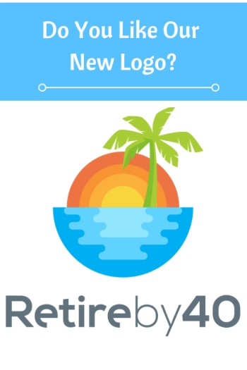 Do you like Retire by 40's new logo