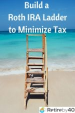 Build a Roth IRA Conversion Ladder to Minimize Taxes in Early Retirement