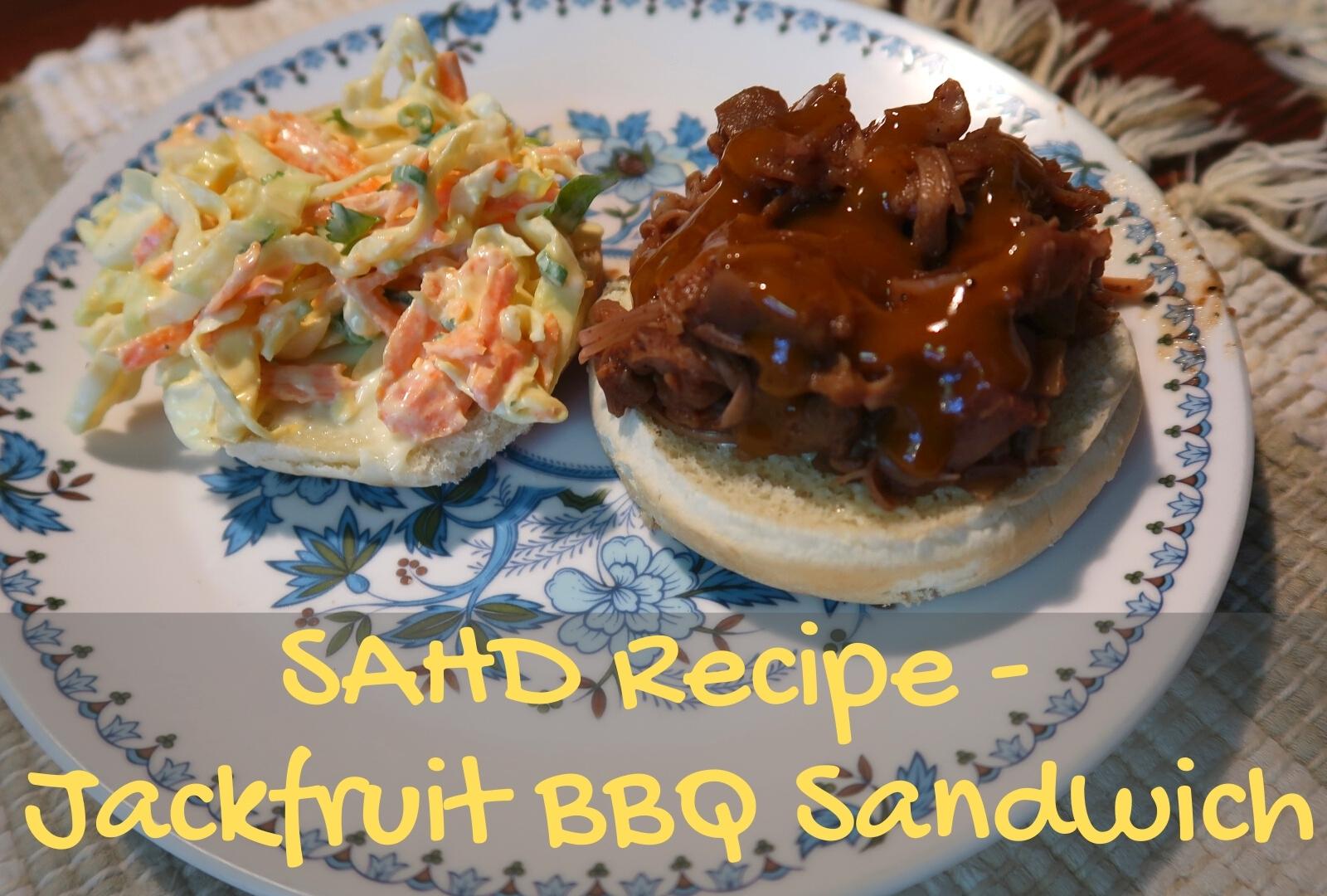 Receita SAHD - Sanduíche de Jaca para Churrasco 1