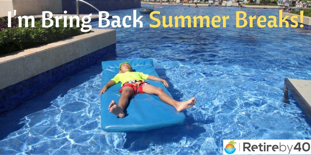 Estou trazendo de volta as férias de verão 3