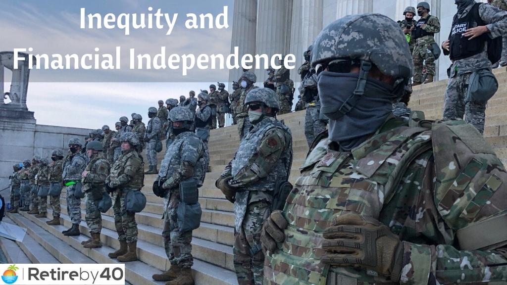 Desigualdade e independência financeira - aposentar-se aos 40 4