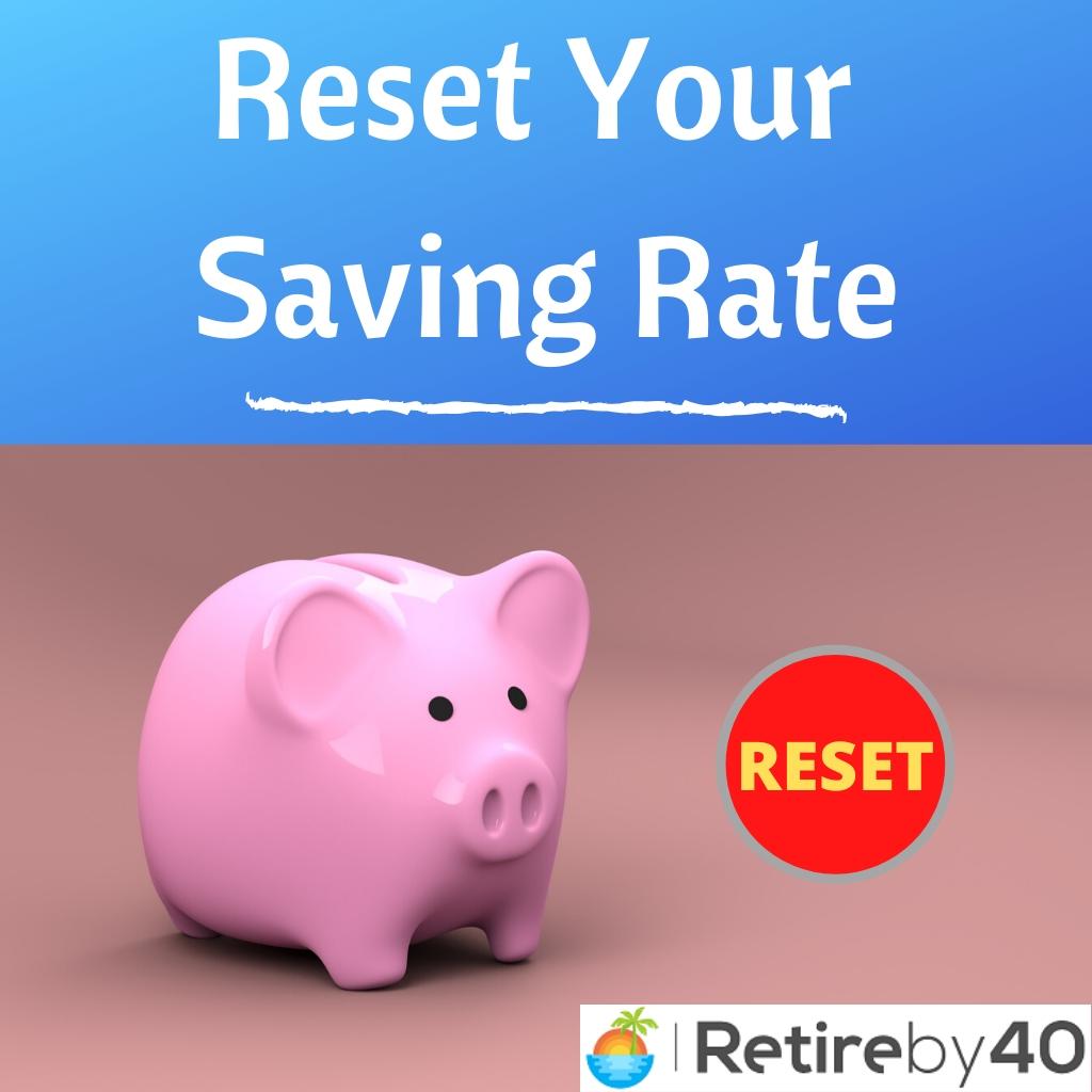 Redefina sua taxa de economia - aposente-se em 40 1