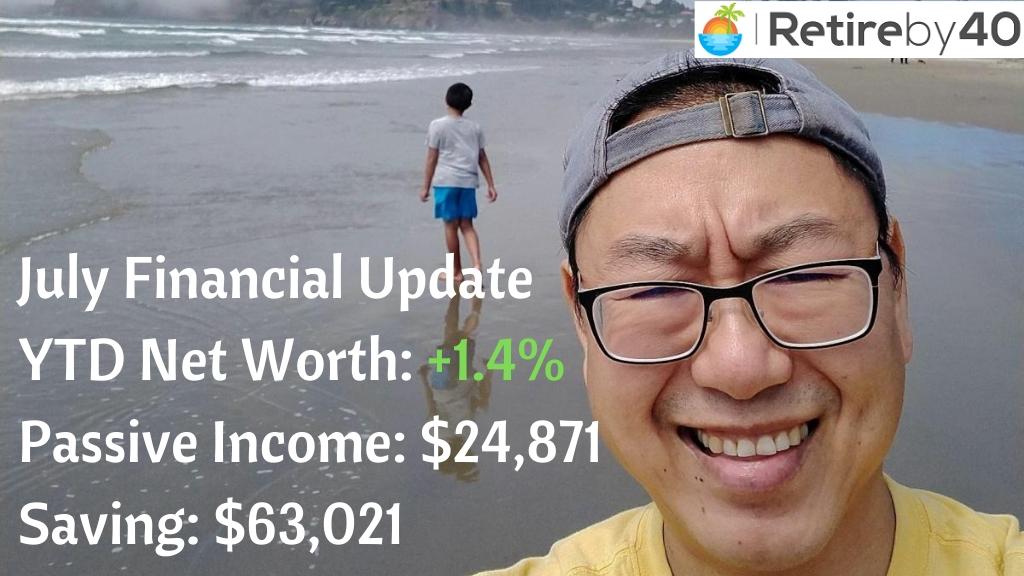 July 2020 Goals Financial Update