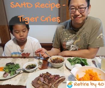 SAHD Recipe - Tiger Cries 350