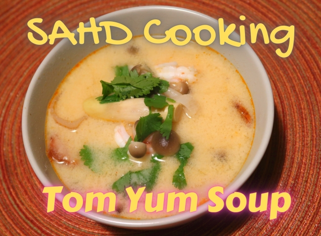 SAHD Cooking - Cremoso Tom Yum Camarão 1