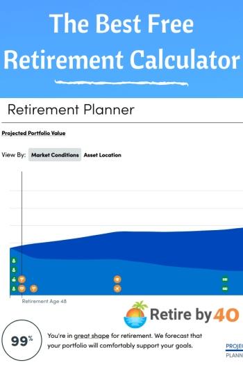 A melhor calculadora gratuita de aposentadoria 350